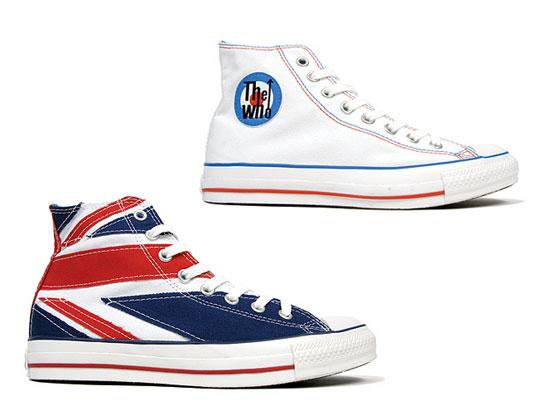 The Who: Converse Chuck Taylor Hi