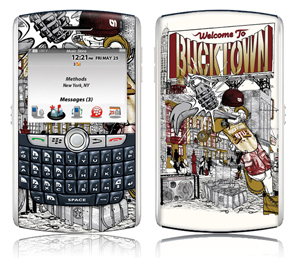 Bucktown Skins (Blackberry Curve) Limited Edition By Methods NYC