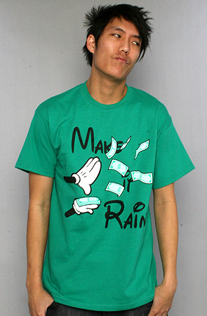 The Make It Rain Tee by Caked Out