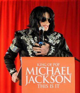 Michael Jackson: Tour Press Photo