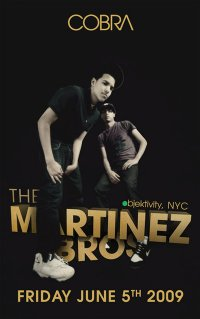 mondomedeusah recommends: it's a MILK. party no.2 :: The Martinez Bros. @ Cobra