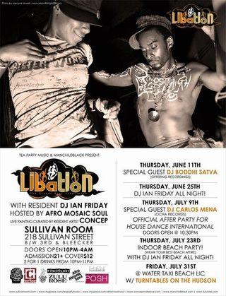LIBATION w/ DJs Ian Friday + Carlos Mena