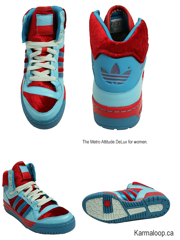 the Metro Attitude DeLux for women by adidas