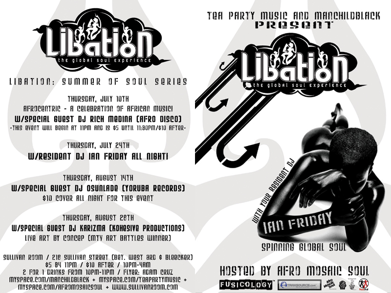 LIBATION: Resident DJ Ian Friday - 7/24