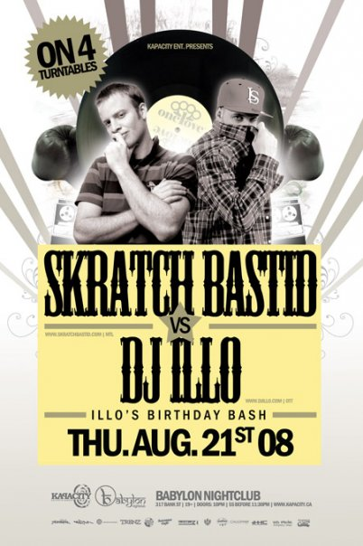 Kapacity: Skratch Bastid vs DJ ILLO