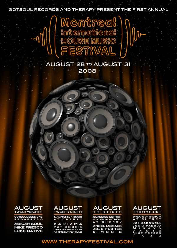 Montreal International House Music Festival