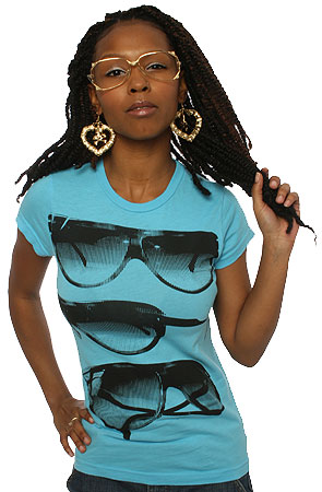Glasses Tee :: by Public Domain :: click here to shop