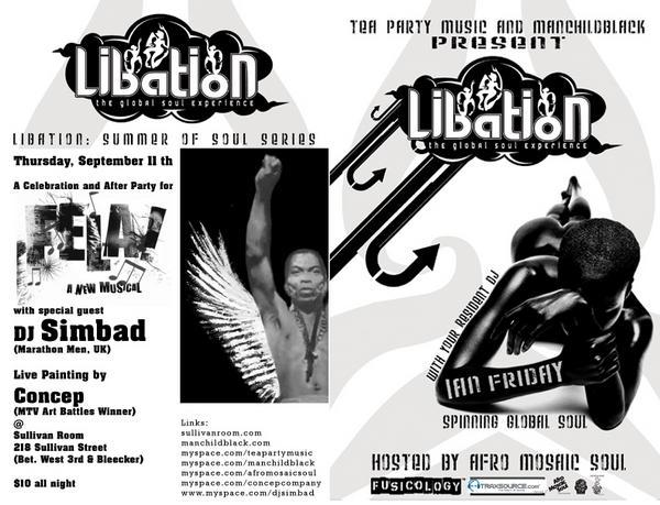 Tea Party Music + Manchildblack: Libation