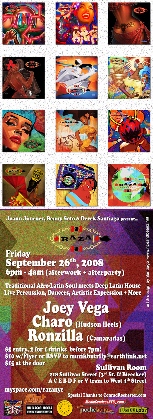 Afro-Latin Soul meets Deep Latin House: afterwork + afterparty