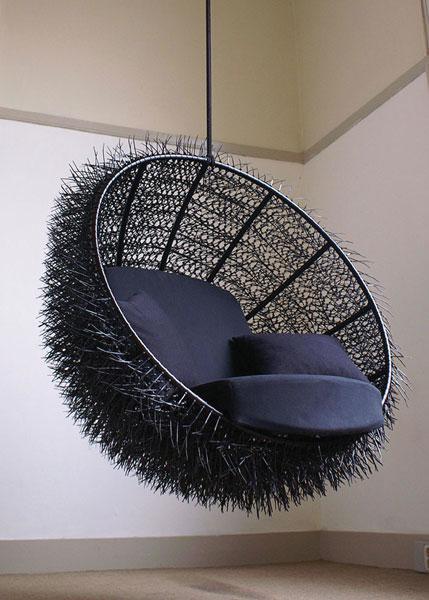 Oooms Studio: sea-urchin chair by Rachel Van Outvorst