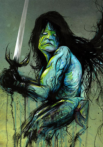 CROM Group Show based on Conan Movies - JUXTAPOZ