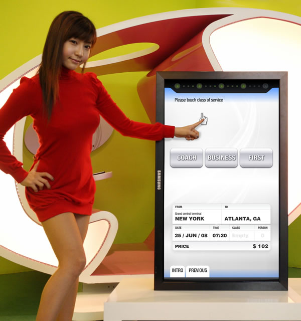 Samsung launches new touchscreen LCDs